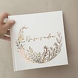 Papiernictvo - Svadobná kniha hostí Wild Flowers - 10978697_