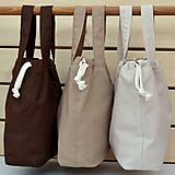 Iné tašky - Tašky zemité farby ~ tvoritaška + nákupná - 10980585_