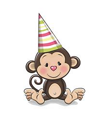 Galantéria - Nažehľovačka Opička - 10978050_