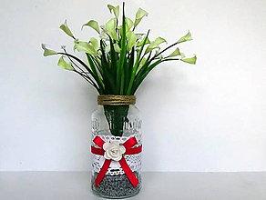 Dekorácie - Váza - 10978006_