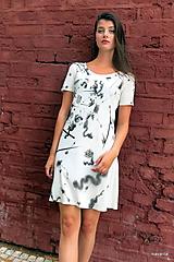 Šaty - letní šaty CÍNY s originální malbou - 10978669_