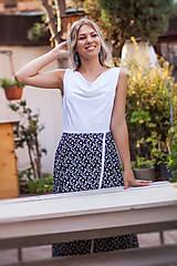 Šaty - Dlhé voľné šaty - 10979092_