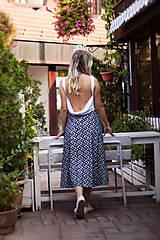 Šaty - Dlhé voľné šaty - 10979093_