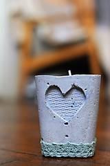 Svietidlá a sviečky - Svietnik ❤ - 10979099_
