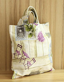 Nákupné tašky - Plátená taška GARDEN - 10978931_