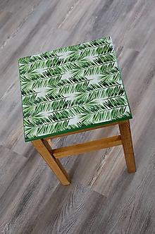 """Nábytok - stolček/stolička - """"Bambusové listy"""" - 10980410_"""