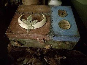 Krabičky - poľovnícka...na vábničky.... - 10980399_