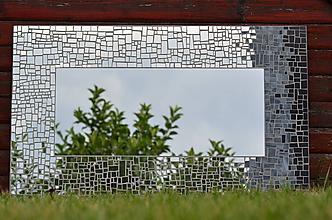 Zrkadlá - Mozaikové zrkadlo Luxury Shadow - 10981679_