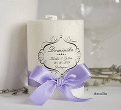 Darčeky pre svadobčanov - Darček a menovka #12 - 10981807_