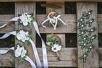 Pierka - Romantické svadobné pierko - 10982292_