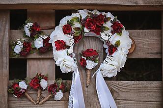 Pierka - Svadobné pierko Ruža - 10983736_
