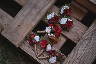 Pierka - Svadobné pierko pre otcov a svedka - 10983750_