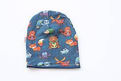 """Detské čiapky - Dvojvrstvová čiapka""""wild life"""" - 10983549_"""