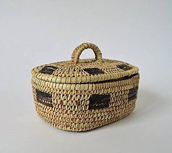 Dekorácie - RUSTIK Prútená šperkovnica (Doprava zadarmo) - 10980936_