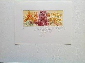 Grafika - Deväť lúčov krásy - 10982087_