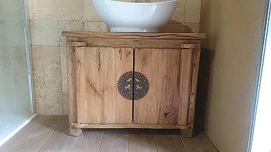 Nábytok - Stolík pod umývadlo - 10984016_