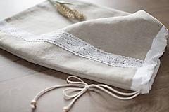 Úžitkový textil - Vrecko na chlieb - 10983449_