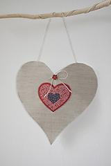 Dekorácie - Srdce - dekor - 10983530_