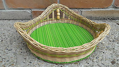 """Košíky - Pletený košík """"trojveža"""" - 10982734_"""