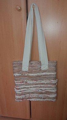 Veľké tašky - Taška - ručne tkaná textília 2 - 10982670_