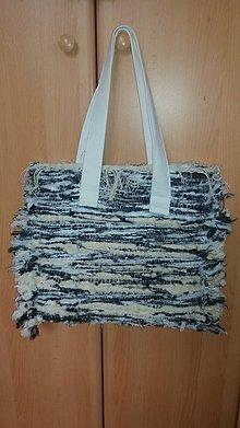 Veľké tašky - Taška - ručne tkaná textília  3 - 10982700_