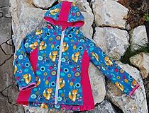 Detské oblečenie - Dívčí softshellová bundička vel.110/116 - 10985538_