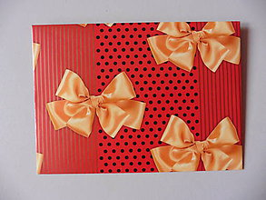 Papiernictvo - obálka mašličky - 10984455_
