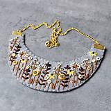 Náhrdelníky - floral - 10984732_
