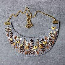 Náhrdelníky - floral - 10984733_