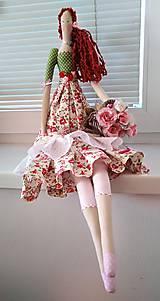 Bábiky - Bábika kvetinárka - 10985514_