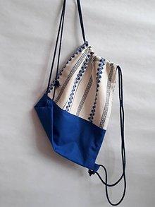 Batohy - Vak- ruksak  (Modrá) - 10984793_