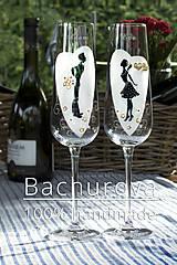 Nádoby - Svadobné poháre - 10984282_