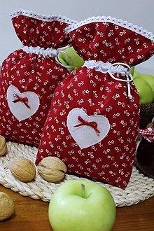 Úžitkový textil - Vrecúška - 10984649_