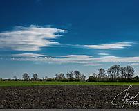 Fotografie - Modrá obloha - 10984428_