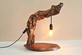 Svietidlá a sviečky - Stolná lampa - 10985402_