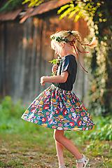 Detské oblečenie - Dievčenská suknička - 10984629_