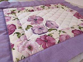 Úžitkový textil - Patchwork súprava - Poppy - 10987751_