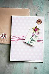 Papiernictvo - Bodkovaná pohľadnica - 10986160_
