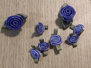 Galantéria - Saténové ružičky - 10986275_