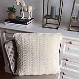 Úžitkový textil - Krajkový vankuš - 10987559_