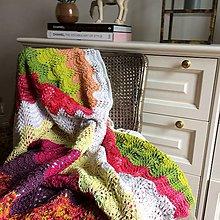 Úžitkový textil - Krajková deka KAROLÍNA - 10987547_