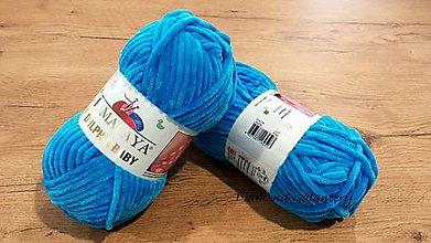 Galantéria - Dolphin Baby (80326- Azúrová modrá) - 10985904_
