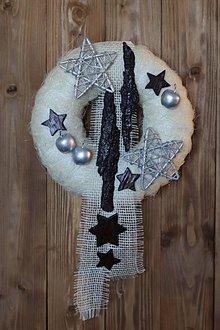 Dekorácie - Vianočný veniec - 10987279_
