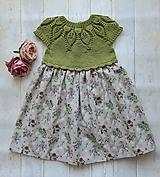 Detské oblečenie - Šaty ...Lúčne kvety - 10987186_