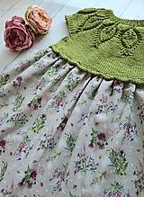 Detské oblečenie - Šaty ...Lúčne kvety - 10987188_
