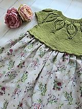 Detské oblečenie - Šaty ...Lúčne kvety - 10987194_