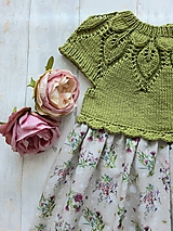 Detské oblečenie - Šaty ...Lúčne kvety - 10987195_