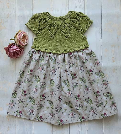 Šaty ...Lúčne kvety
