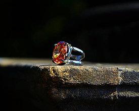 "Prstene - Nerezový prsten... "" Golden Gate "" - 10987355_"