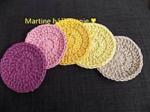 Úžitkový textil - EKO odličovacie tampóny - 10987182_
